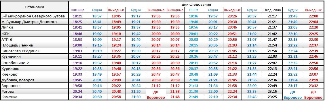 термогольфы отправление автобуса с донского до москвы же
