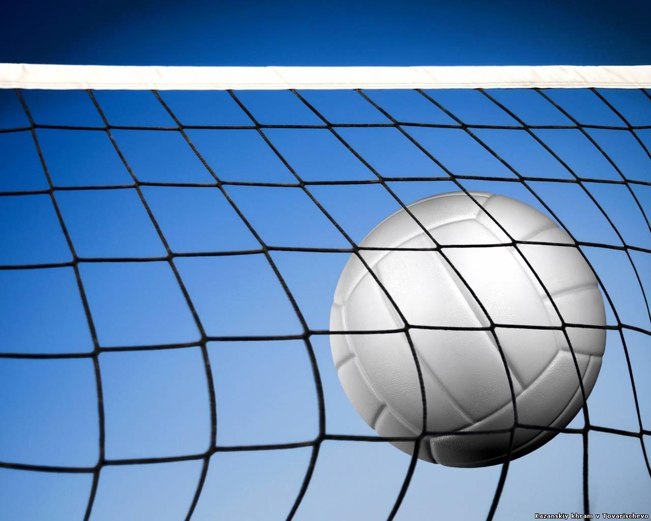 Обои волейбольный мяч на рабочий стол